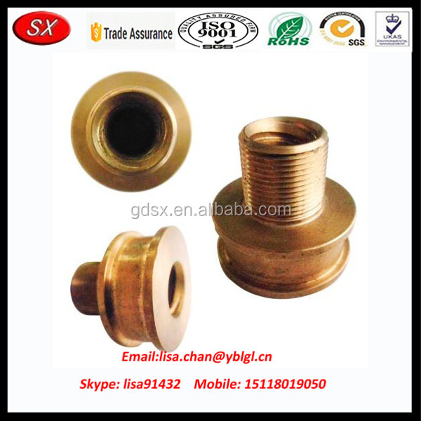 Brass/ stainless steel auto spare parts, car cnc parts, motor parts accessories