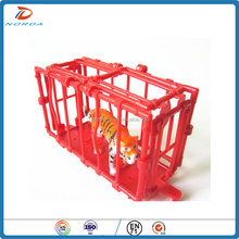 animal cage can be opened plastic toys