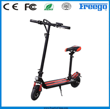 2 seat mobility scooter 2 wheel portable foldable mobility hand brake electric scooter for adult