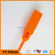 341mm total length with 7mm strip width tamper proof tote plastic seal