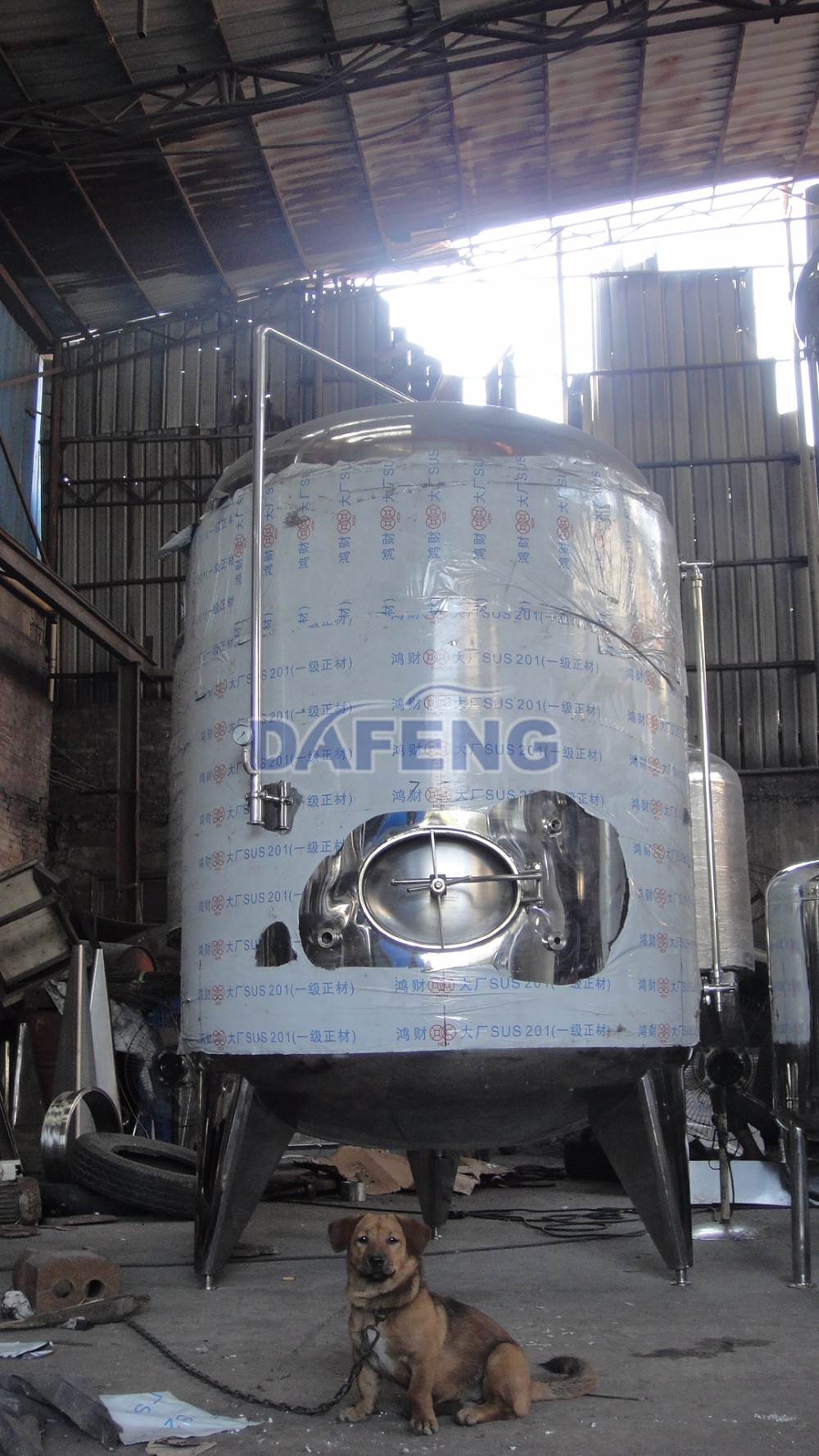 2000L Glycol Jacket Bright Beer tanks
