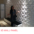 3D Wall Panels Plant Fiber Ice Design