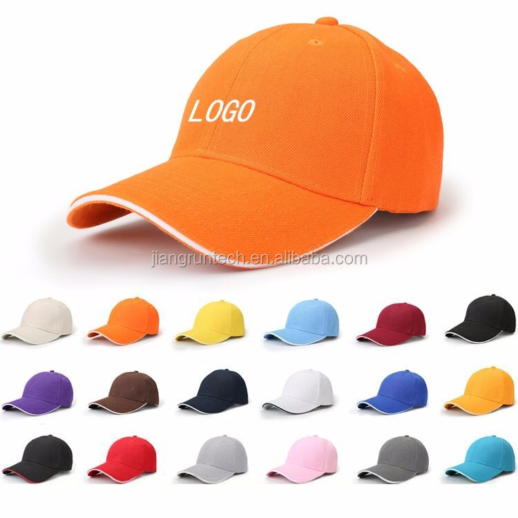 Factory directly Wholesale Promotional Sandwich Cotton polyester Custom Blank 6 Panel Baseball <strong>Cap</strong>