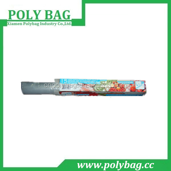 Pellucid Roll Zip Lock Polythene Bag in Box
