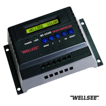 wellsee solar controller 12V/24V 40A 50A 60A charge controller WS-C2460 12/24v intelligent solar battery charge controller
