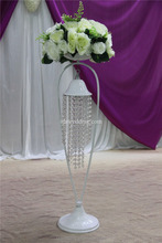 artificial real silver stand wedding centerpiece wholesale