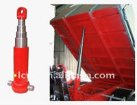 multistage one way under middle body hydraulic cylinder for dump truck