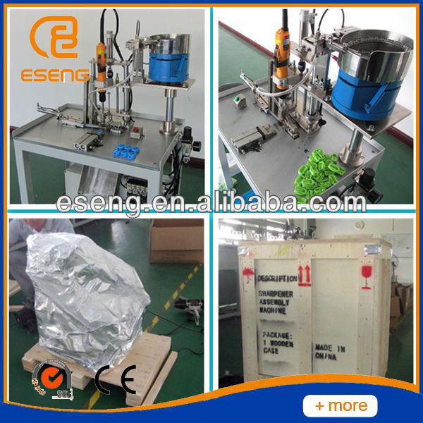 Semi Auto Pencil Sharpener Assembly Machine 1kw Motor