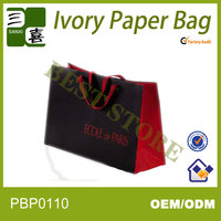 Cheap new promotion recycled newspaper paper bag