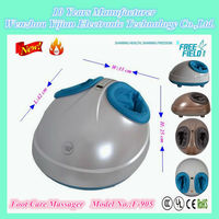 New Cute Eggs Shape foot Massager with Air pressure squeez massage, Sterilization Foot Massager,F-905 foot massagers