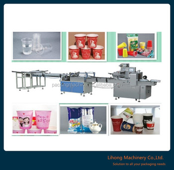 Factory Price Automatic Counting Paper Cup Packing Machine