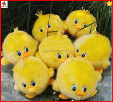 Top sale custom squeaky voice plush duck toy