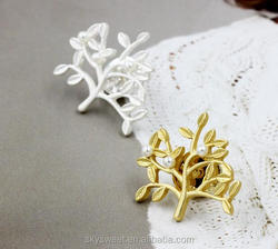 Life and tree pearls brooches and pins,yiwu skysweet cheap bulk jewelry(PR882)