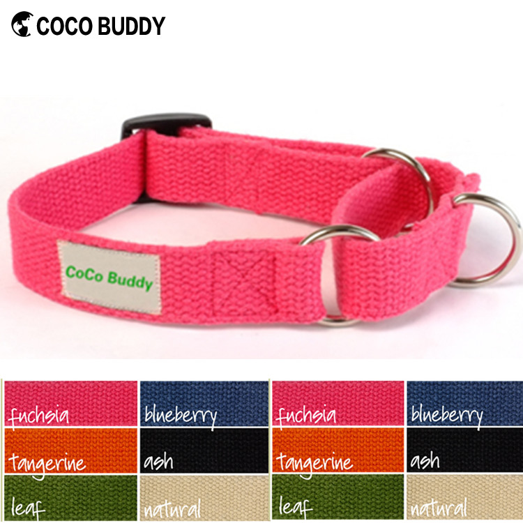 Organic Hemp martingale dog collars and leashes pet collars wholesale