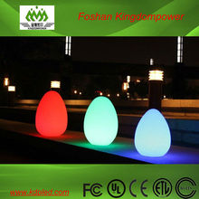 LED outdoor decorated egg shape lamp
