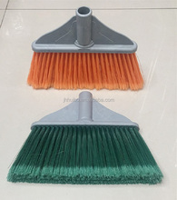 HB7007 PP plastic cleaning nylon broom soft bristle push broom
