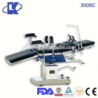 manual electric operating table CE ISO FDA accessories to operating table X-ray compatible
