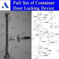 iso container door lock parts for 20ft 40ft container