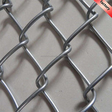 Cheap chain link fence rolls sale / used chain link fence with post
