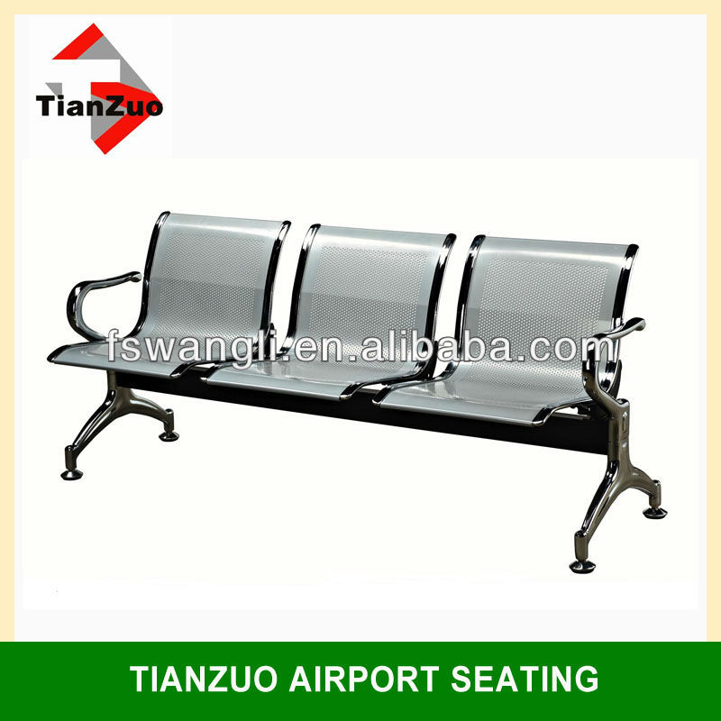 Chrome Airport Gang Chair with Quality Gurantee