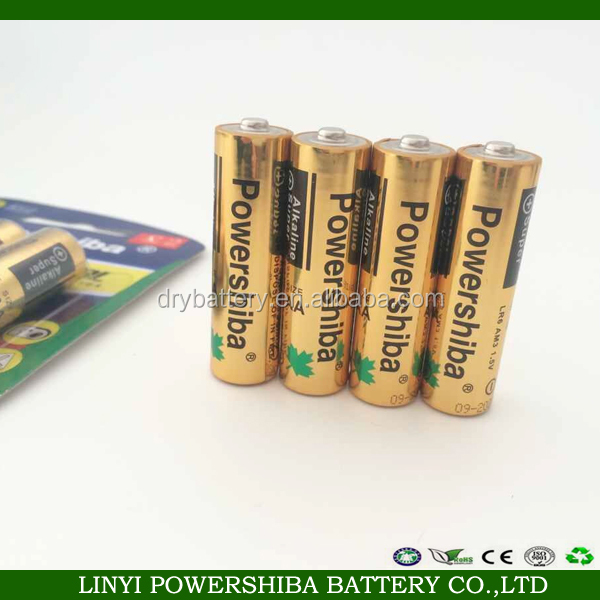 alkaline LR6 AA size 1.5v am3 dry battery for remote control