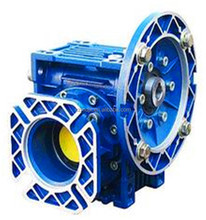 Industrial worm gear speed reducer / NMRV series with square output flange