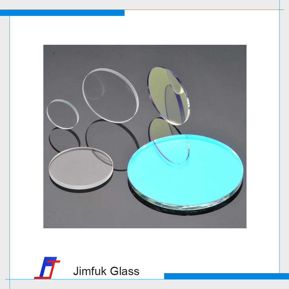 Customized optical magnifying tempered glass lens for improve transparency