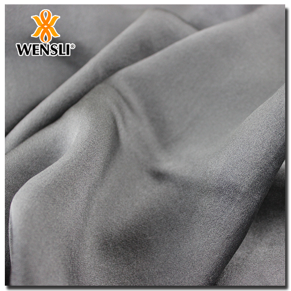 raw silk Breathable 100% Silk Satin Fabric Muslim Dress