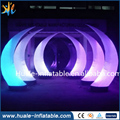 colorful inflatable decoration lighting arch for sale