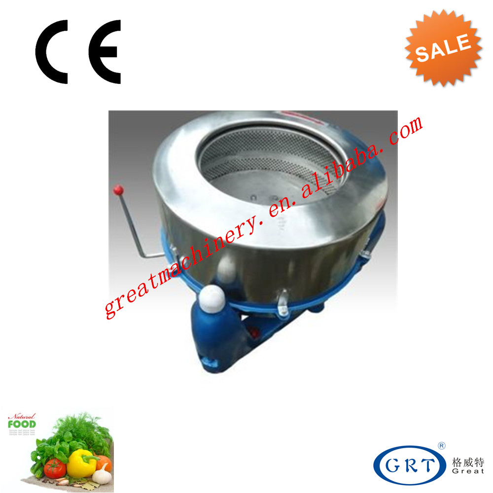 Factory direct sale stainless steel vegetable centrifugal dewatering machine