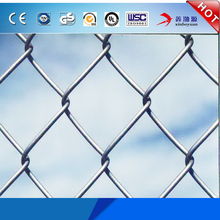factory manufacturer supply and export high quality pvc coated galvanized type China chain link fence for sports ground