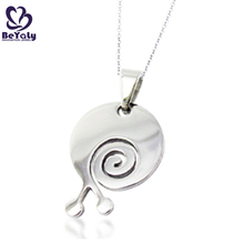 Cheap custom engraved animal necklace jewelry