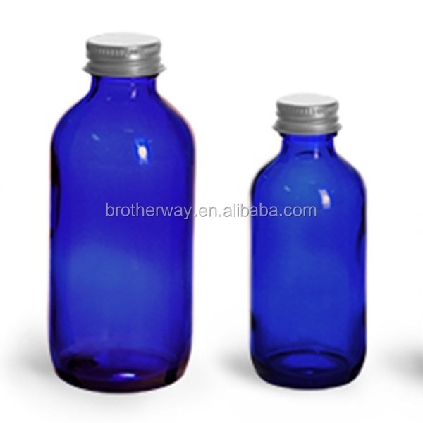 500ml Amber glass bottle with screw cap