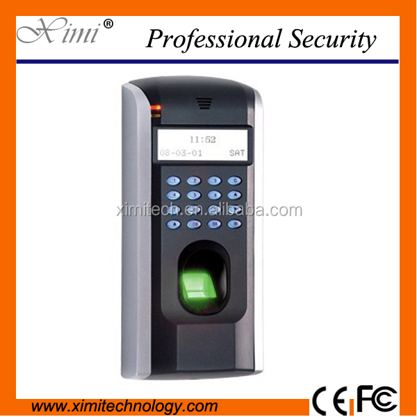 TCP/IP fingerprint access control system biometric fingerprint time attendance time recorder ZK linux system with free software