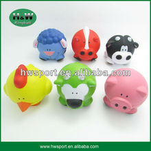 new arrival pu animal shaped stress ball