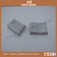 Custome size Arc-shaped marble stone shower soap dish tray