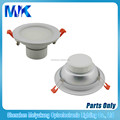 hot selling in European market die casting housing 5inch led downlight/recessed led downlight housing