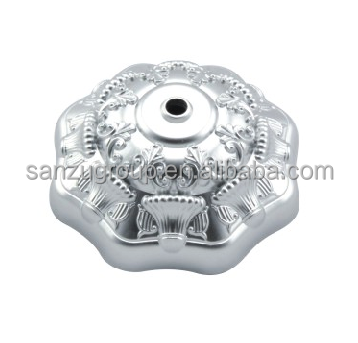 Lamp Holder Professional Manufacturer High Quality decorative plastic ceiling rose with clear base