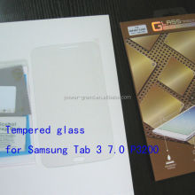 Top quality 9H Tempered Glass screen protector for Samsung Galaxy Tab 3 7.0 P3200 P3210