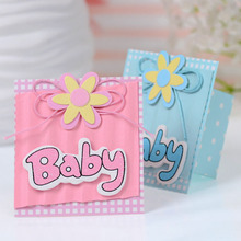 Party Favor Paper Box Birthday Baby Shower Baby Gift Box