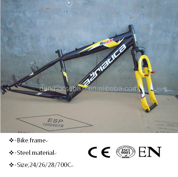 Steel suspension fork,double crown fork,mtb bike frame