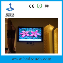 55inch wall mount small screens for advertising to restaurant wifi