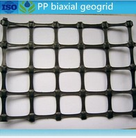 road construction material reinforcement PP biaxial geogrids
