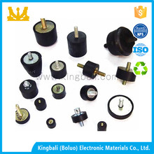 25x25xM6 rubber motor mounts generator isolator anti vibration pressure washer cart frame generator rubber mount