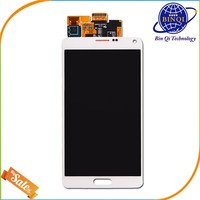 alibaba express china supplier wholesale mobile phones display for samsung galaxy note 4 lcd touch screen digitizer assembly oem