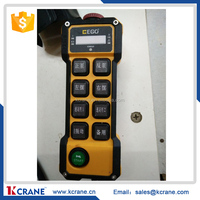 DC 24V Industrial Wireless Radio Remote Controller For Crane 1 Receiver+ 1 Transmitter