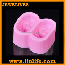 Shoes shaped handmade silicone soap making molds