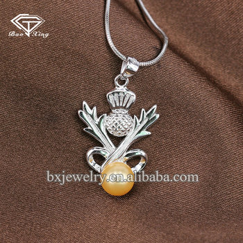 China wholesale websites custom design high quality handcrafted Scottish pendant