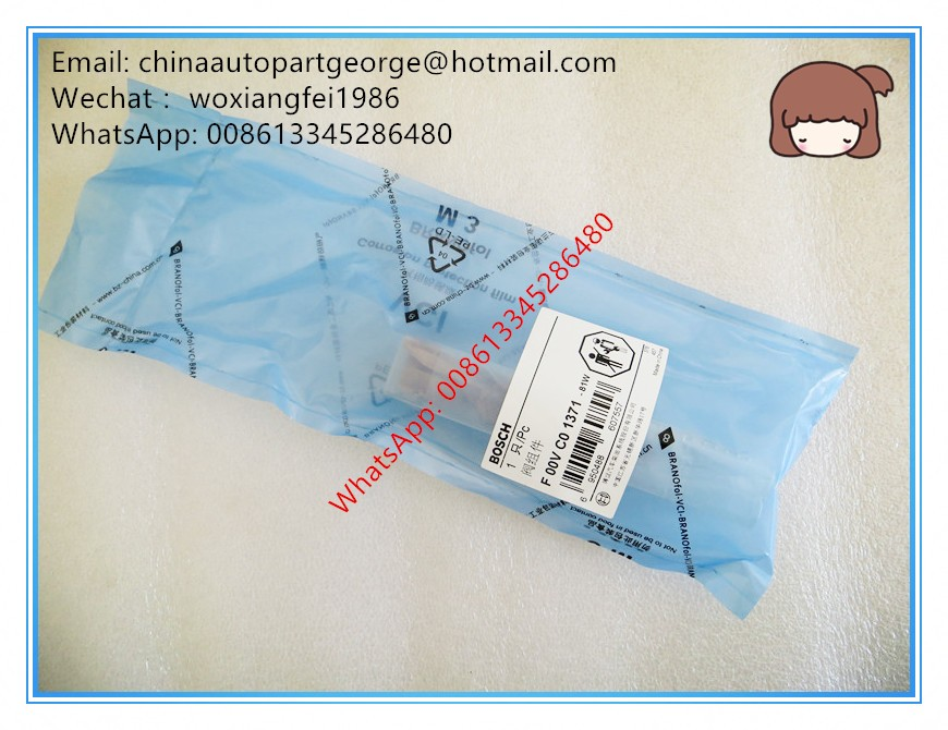 (Fake a penalty ten)Origina Fuel injector valve F00VC01371 for 0445110333, 0445110334, 0445110360, 0445110372, 0445110383