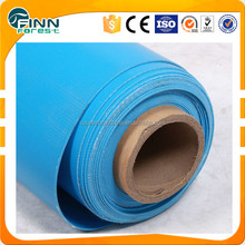 Blue color 1.2mm 1.5mm 2.0mm custom shape plastic liner piscinas pvc pool liner